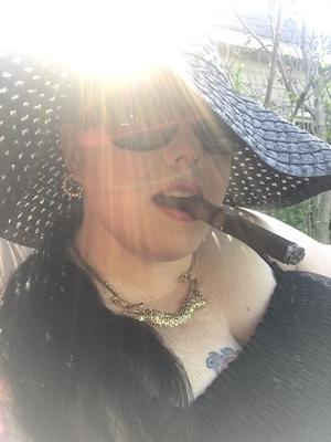 Mistress Rage cigar Domme sadist humiliatrix femdom dominatrix